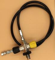 Druckluft - Füllschlauch für Coltri Kompressoren mit Füllventil