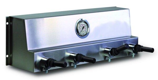 Fuellpanel mit vier getrennten Abgang und Kiphepelventilen