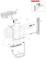 Kühlwendel 1. zu 2. Stufe für MCH6 Coltri Atemluftkompressor