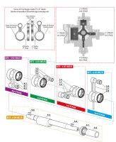 Reparatursatz für die erste Stufe des Coltri Atemluftkompressors MCH6