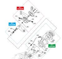 Zylinderkopfdeckel 3 Stufe MCH13 und MCH16