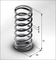 Spiralfeder / Druckfeder für Filtereinsätze