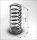 Spiralfeder / Druckfeder für Filtereinsätze des MCH 6