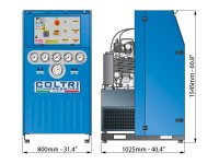Atmluftkompressor Fülleistung 650 Liter/min. max. 420bar