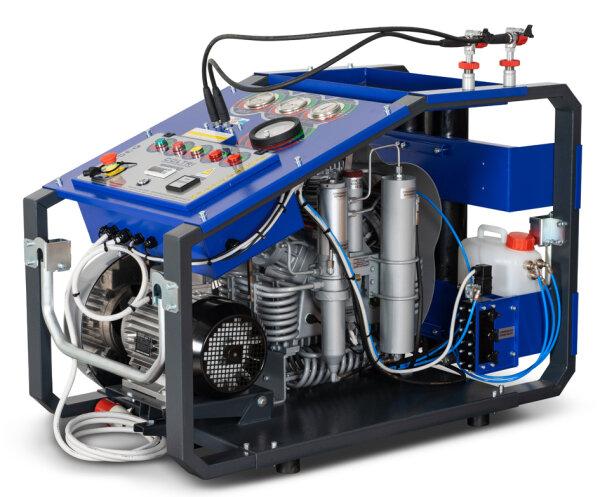 Atemluftkompressor MCH13 ERGO 235 Liter/min. 330bar, Doppeltes Filtersystem für Tropeneinsatz geeignet
