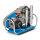 Atemluftkompressor MCH8/EM SMART Fülleistung 125 l/min. 230V 50 Hz. 330bar