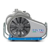 Atemluftkompressor MCH11/EM SMART Füllleistung 195 l/min. 230V 50 Hz. 300bar