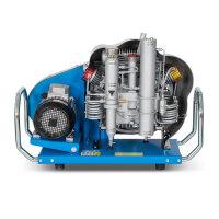 Atemluftkompressor MCH11/EM SMART Füllleistung 195 l/min. 230V 50 Hz. 330bar