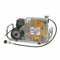 Atemluftkompressor 90 l/min E-Motor 230 V 232bar Edelstahlgehäuse
