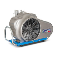 Atemluftkompressor MCH13/ET SMART Füllleistung 235 l/min. 400V 50 Hz. 330bar