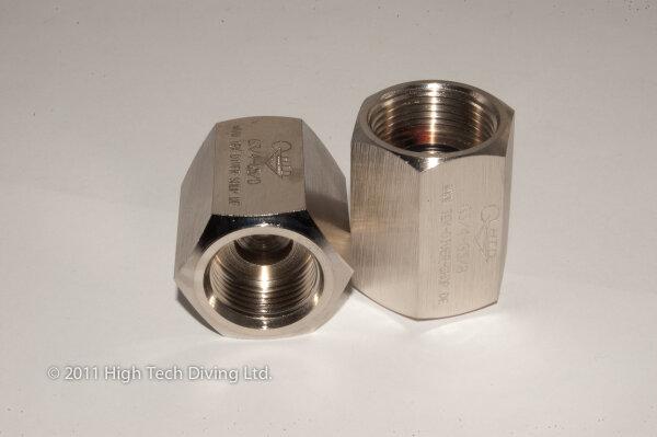 """Adapter Air (5/8"""") -- inert gas (W21.8) inside / inside"""