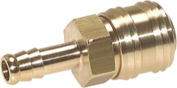 Schnellkupplung Druckluft Steckkupplung 7,2 - 6mm